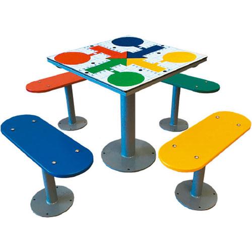 Mesa multijuegos 4 bancos sueltos