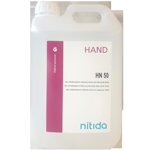 Gel hidroalcohólico garrafa 5 litros detalle 1