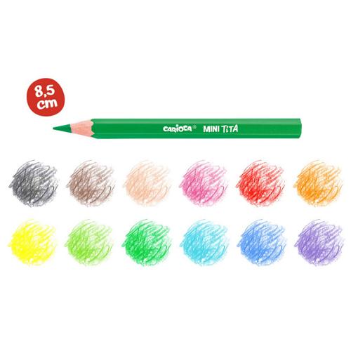 Pack de 12 lápices mini Tita detalle 1