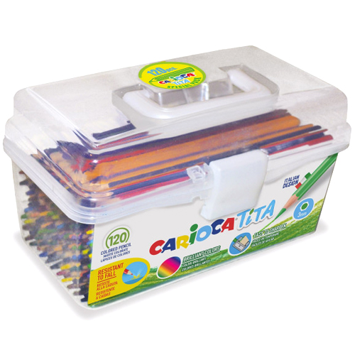 Caja 120 lápices hexagonales Tita