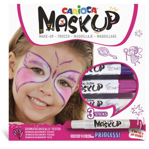 Caja de 3 barras de maquillaje Princesa