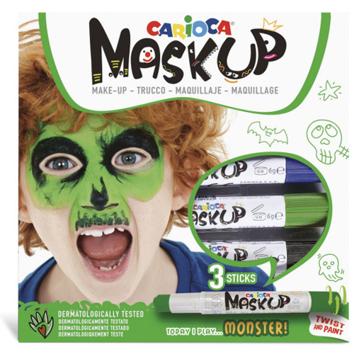 Caja de 3 barras de maquillaje Monstruo