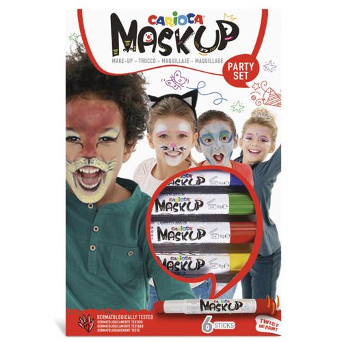 Caja de 6 barras de maquillaje Fiesta