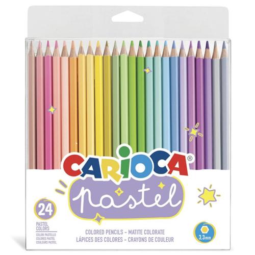 Pack de 24 lapiceros color pastel