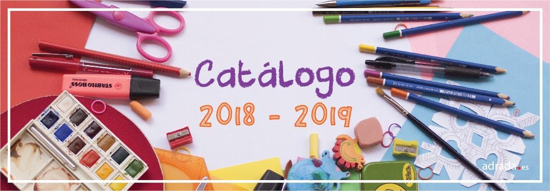 Catálogo 2018-2019. Vuelta al cole