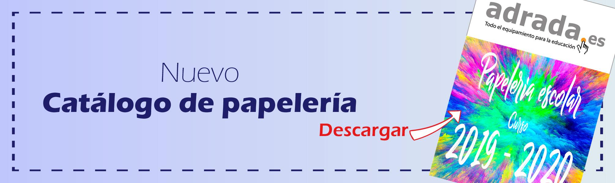 Nuevo catálogo de papelería para descargar