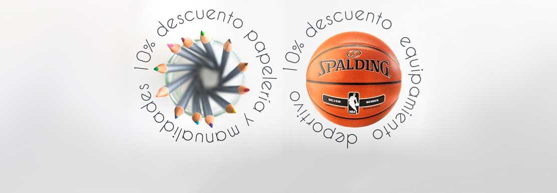ADRADA Oferta del mes · 10% dto. en papelería y deporte